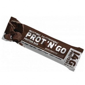 Barrita Proteica Low-Carb Prot 'N' Go Chocolate de Scitec Nutrition 45 g