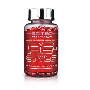 Restyle Contrôle de la Faim et du Poids Corporel Scitec Nutrition 120 Capsules