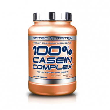 100% Casein Complex Chocolate Belga Scitec Nutrition 2350 g