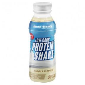 Batido de Proteína Low-Carb Sabor de Baunilha Body Attack 500 ml