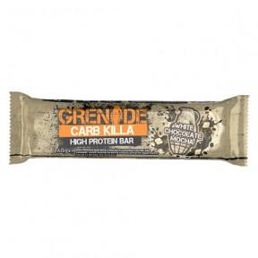 Barra de Proteína Carb Killa sabor Mocha de Chocolate Branco Grenade 60 g