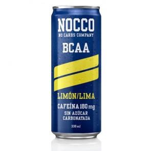 Bebida Low-Carb con BCAA y Cafeína sabor Limón/Lima Nocco 330 ml
