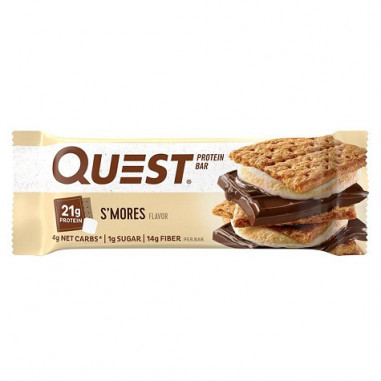 Quest Bar Protein Biscuits au Chocolat et Guimauve