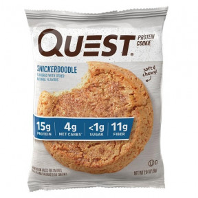 Quest Nutrition Snickerdoodle Protein Cookie 58 g