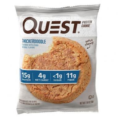 Galleta Proteica de Mantequilla con Canela (Snickerdoodle) Quest Nutrition 59 g
