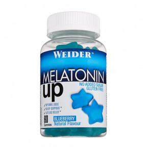 Weider Melatonin Up 60 Gummies