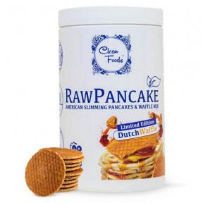 Preparado para Panquecas Low-Carb Raw Pancake Sabor Waffle Clean Foods 425 g