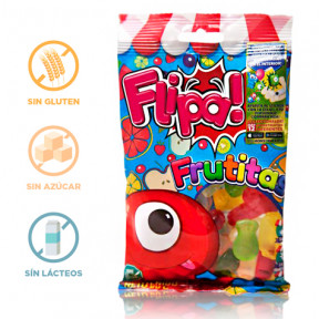 Gummies sem Açúcar Frutitas Flipa 80 g