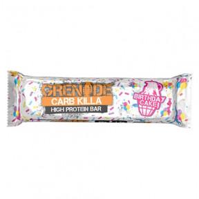 Barrita Proteica Carb Killa sabor Pastel de Cumpleaños Grenade 60 g