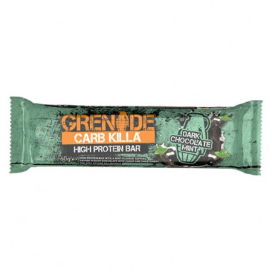Grenade Carb Killa Dark Chocolate Mint Protein Bar 60 g
