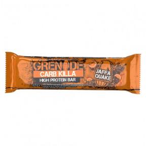 Grenade Carb Killa Jaffa Quake Protein Bar 60 g