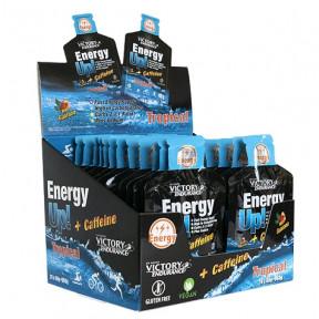Energy Up! + Cafeína Gel 24 x 40 g Victory Endurance Tropical pack
