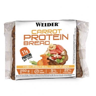 Pan de Molde de Zanahoria y Semillas Low-Carb 250 g Weider