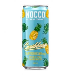 Bebida Low-Carb con BCAA y Cafeína sabor Caribbean Nocco 330 ml