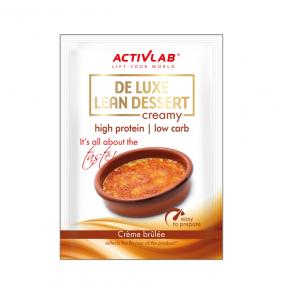 Crème Protéinée goût Crème Brûlée De Luxe Lean Dessert ActivLab 30 g