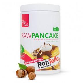 Préparation pour Pancakes Low-Carb Raw goût RawTella Clean Foods 425 g