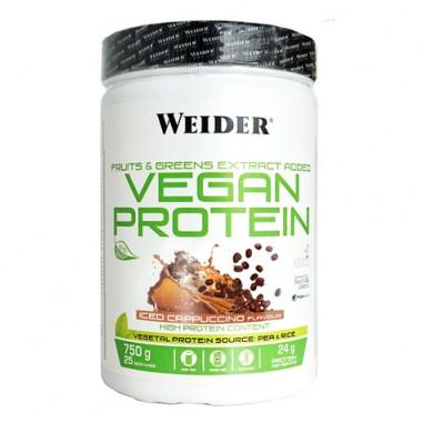 Vegan Protein Sabor Capuchino Helado Weider 750 g