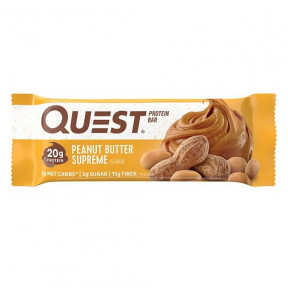 Quest Bar Protein Manteiga de Amendoim 60 g