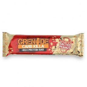 Barra de Proteína Carb Killa sabor Chocolate Branco com Amendoim Salgado Grenade 60 g
