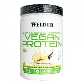 Vegan Protein Vanilla Flavour Weider 540 g