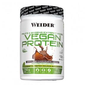 Vegan Protein Sabor Brownie de Chocolate Weider 750 g