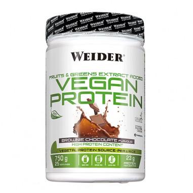 Vegan Protein Sabor Brownie de Chocolate Weider 540 g