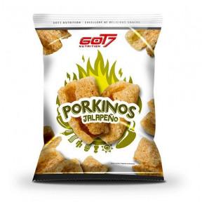 Got7 Pork Rinds Jalapeno Flavour Porkinos 75g