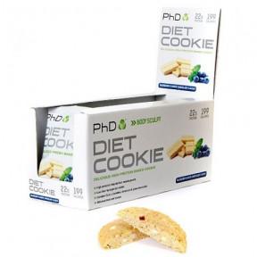 Biscoito de Proteina Sabor Mirtilos com Chocolate Branco Diet Cookie PHD 50 g