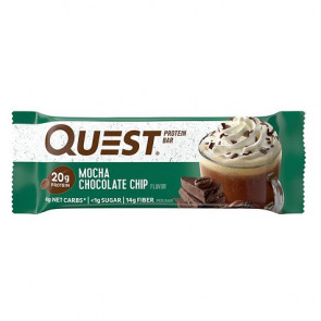 Quest Bar sabor Mocha Chocolate Chip 60g