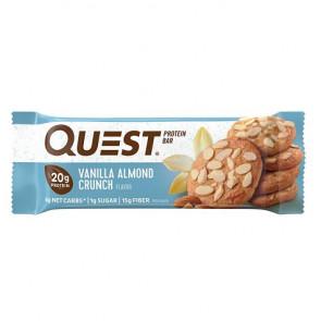 Quest Bar Protein Sabor Crujiente de Vainilla y Almendra 60 g