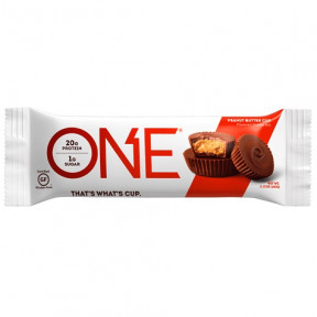 Barre Oh Yeah! ONE goût Chocolat au Beurre de Cacahuète 60 g