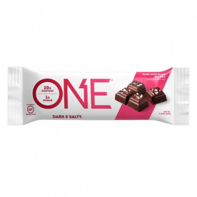 Bar Oh Yeah! ONE sabor Chocolate Preto com Sal do Mar 60 g
