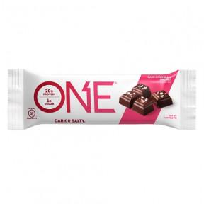 Barre Oh Yeah! ONE goût Chocolat Noir au Sel Marin 60 g