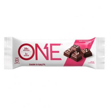 Barrita Oh Yeah! ONE sabor Chocolate Negro con Sal Marina 60 g