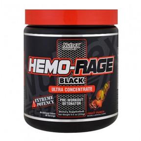 Hemo-Rage Black Ultra Concentré Punch aux Fruits 255 g Nutrex Research
