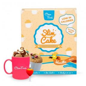 Bizcocho en Taza Low-Carb Slim Cake sabor Vainilla Clean Foods 250 g