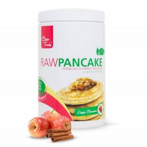 Préparation pour Pancakes Low-Carb Raw goût Pomme-Cannelle Clean Foods 425 g