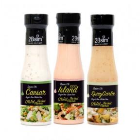 Pack de Molhos para saladas 2Bslim