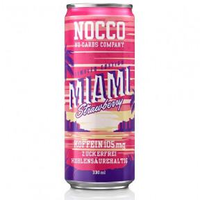 Nocco BCAA + Caffeine Strawberry 330 ml
