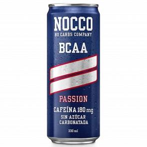 Bebida Low-Carb con BCAA y Cafeína sabor Passion Nocco 330 ml