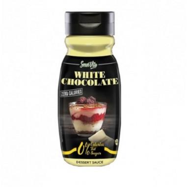 Sirope de Chocolate Blanco 0% Servivita 320 ml