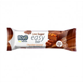 Easy Bar Protein goût Chocolat et Caramel 60 g Novo Nutrition