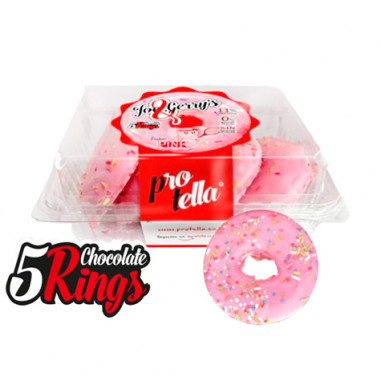 Protella Chocolate Donuts Pink 208 g