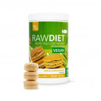 Preparado para Batido Sustitutivo Raw Diet Vegan sabor Macarons de Vainilla Clean Foods 600 g