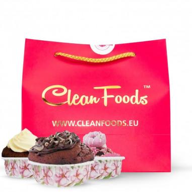 Bizcocho en Taza Low-Carb Slim Cake sabor Chocolate Deluxe Clean Foods 300 g