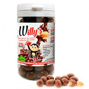 Amendoim Willy's com Chocolate Protella 80 g
