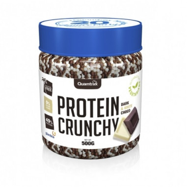 Quamtrax Protein Crunchy Dark and White Chocolate 500 g