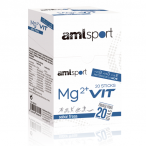 Mg2+ Vit AMLSport Sabor a Morango 20 Sticks