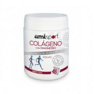 Collagène Avec Magnésium + Vitamine C + Vitamines B1, B2 et B6 en Poudre Goût Fraise AMLSport 350 g
