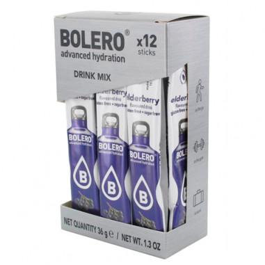 Bolero Drinks Sticks Elderberry 36 g 12 Pack